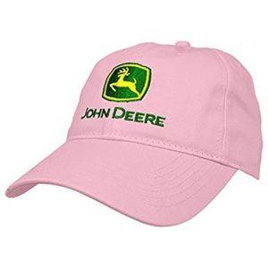 Pink John Deere Hat
